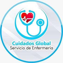 CUIDADOS GLOBAL SAS, Servicios de cuidados y enfermería las 24 horas