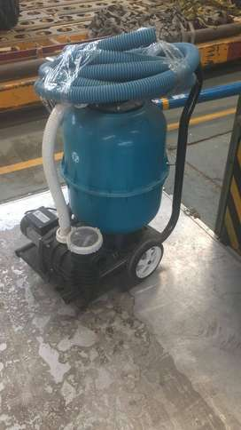 Equipo filtrante marca Fluvial para piletas de 60000 litros