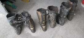 Vendo 3 pares de botas de enduro