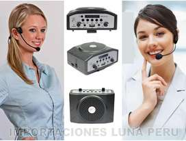 amplificador de voz en importaciones luna peru