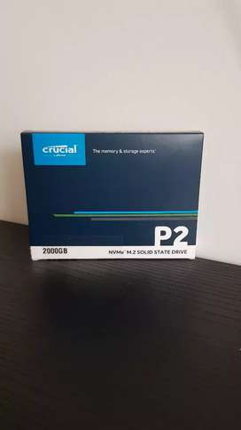 SSD M.2 PCIE NVME P2 2TB CRUCIAL