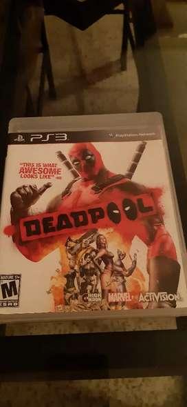 Ps3 vendo juego deadpool
