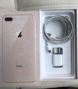 Vendo iphone 8plus en perfecto estado