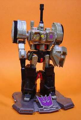 Transformers Megatron War Within Titanium Diecast