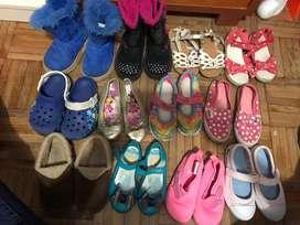 Vendo zapatos de niña en lote o individual