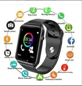 Smart watch a1 reloj inteligente color dorado