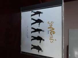 CD GENESIS LIVE