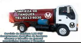 Limpieza de tanques septicos madison tel:62136030