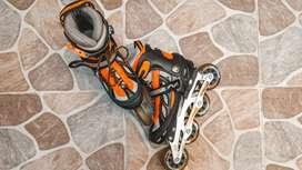 Cambio patines en excelente estado por tecnología