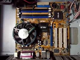 CPU pc Asus P56V-MX para reparar o repuestos