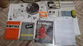 Makina de tejer knittax automática