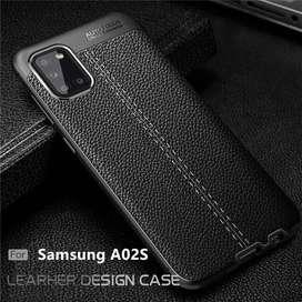Estuche Forro Funda Case Tipo Cuero Samsung Galaxy A02S