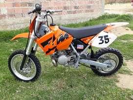 Vendo ktm 65 sx 2006