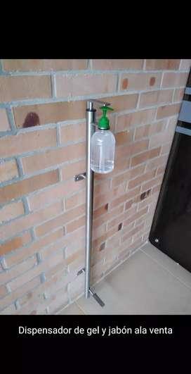 Dispensador gel alcohol