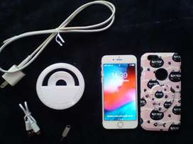 Combo Iphone+aro de luz