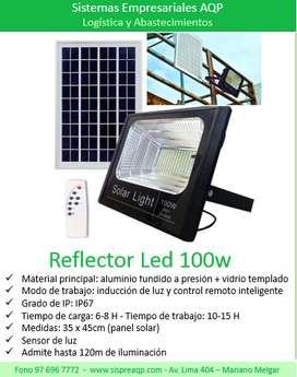 Reflector led solar - 100w
