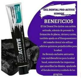 Crema dental con carbon activado y aloe vera