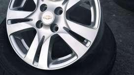 Llantas y Aros para Chevrolet Sail