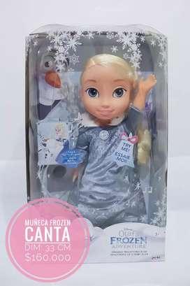 Muñeca frozen Elsa canta