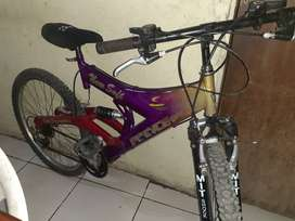 Vendo bici aro 26 seminueva
