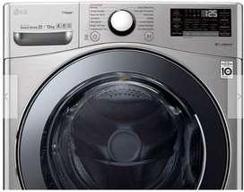 Lavadora secadora dos en una LG 22k steam