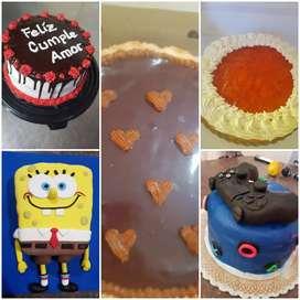 Tortas - tartas - alfajores de maicena - desayunos