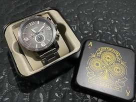 Vendo reloj fossil acerado original en su caja