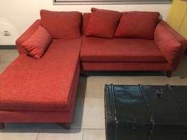 Sofa en L usado