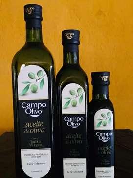 Aceite de Oliva Extra Virgen por mayor y menor