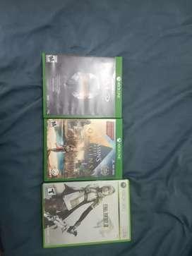 Vendo juegos Xbox One Xbox 360