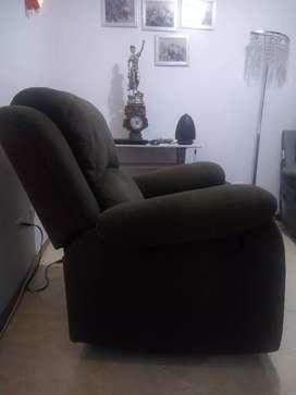 Vendo mueble reclinomatic color café