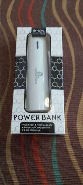 Cargador Power Bank  2600ah de bolsillo o para la cartera para una