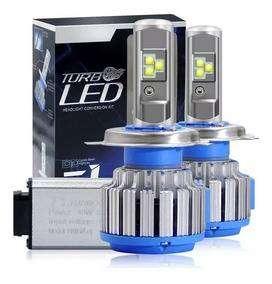Focos Luces Turbo Led Original (potentes) H1,h3,h4,h7.. 0