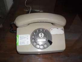 Telefono a disco antiguo retro Entel