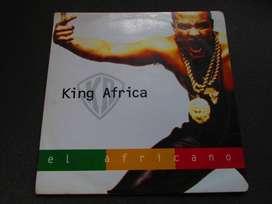 DISCO LP  VINIL ACETATO , EL AFRICANO, DE COLECCION.