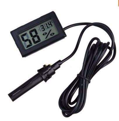 Termohigrometro, lcd digital con SONDA termometro higrometro 0