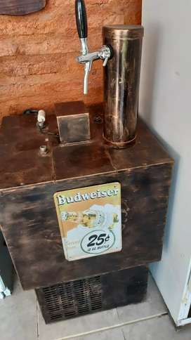 Vendo Chopera profesional eléctrica con 2 barriles