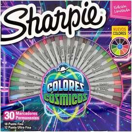 Marcadores Sharpie colores cosmicos