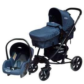 coche cuna moises de bebe incluye canasta porta, car seat travel sistem