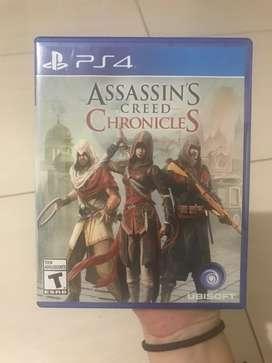 Assessin's Creed Chronicles PLAY SATION 4 OFERTAAAA