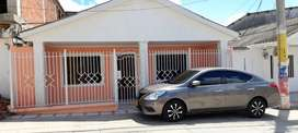 Se vende casa con apartamento en Galapa Atlantico