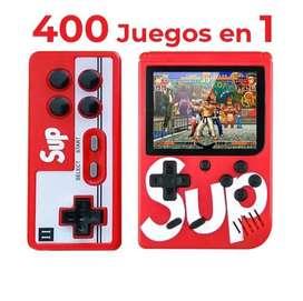 CONSOLA SUP CON MANDO ADICIONAL 400 JUEGOS