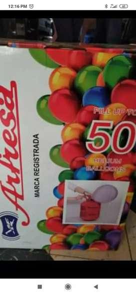 Remato balón de Helio nuevo. S/ 150 para 50 globos!
