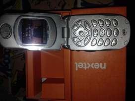 RADIO nextel i730 PLATEADO metalAL SOLO PARA RADIO IDEN PRIP NEXTEL