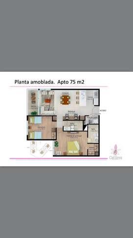 Se vende apartamento de Sabaneta, entrega agosto 2021