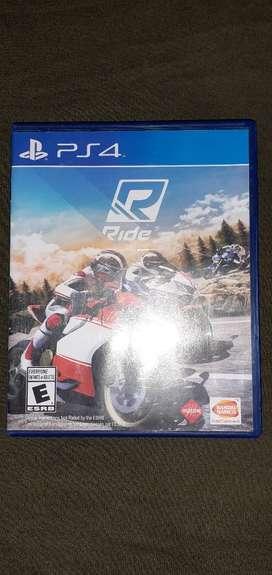 Vendo-permuto Ride para play 4