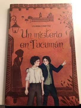 """Libro """"Un misterio en Tucuman"""""""