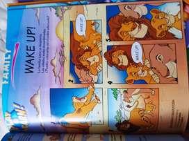 Libros actividades español ingles para niños Disney originales