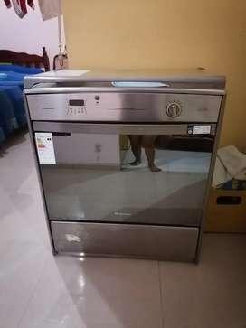 Cocina de inducción con horno