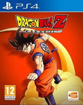 Dragon Ball Z Kakarot Playstation 4 Ps4, Físico